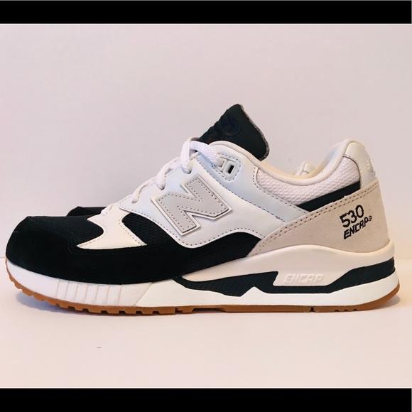 sports shoes 68212 94032 New Balance 530 Men's Sz 9 Black White Running